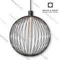 GLOBE_5.0_BLACK wever ducre suspension lighting