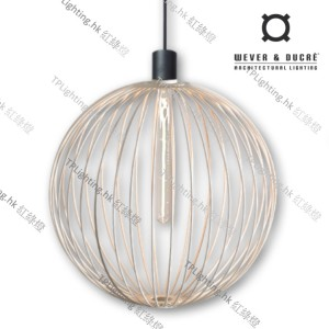 GLOBE_5.0_WHITE wever ducre suspension lighting