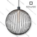 GLOBE_6.0_BLACK wever ducre suspension lighting