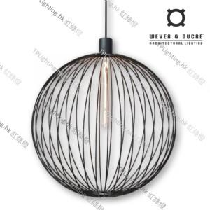 GLOBE_6.0_BLACK wever ducre suspension lighting