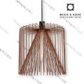 WIRO_3.8_RUST wever ducre suspension lamp