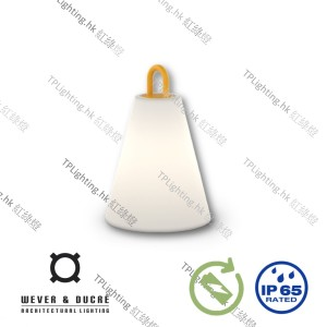 wever ducre costa 1-0 led outdoor lamp yellow handle