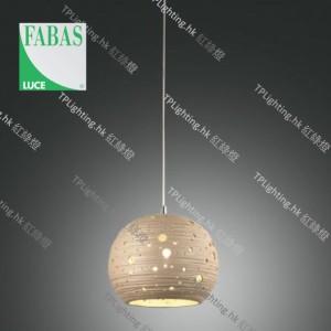 fabasluce 3531-40-348 corvara khaki pendant lamp